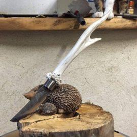 Petit couteau bois de chevreuil