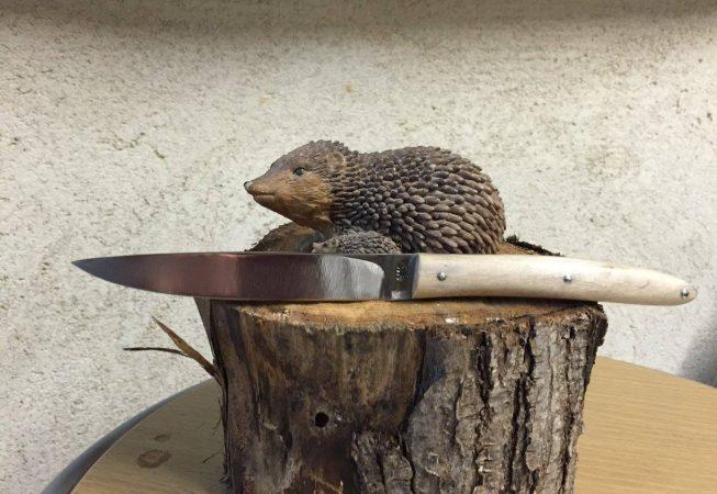 Couteau fixe hêtre 100c6