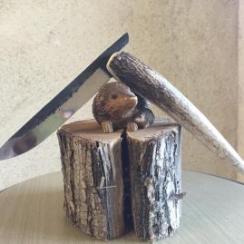 Piémontais bois de cerf titi