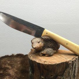 Couteau de cuisine, plate semelle